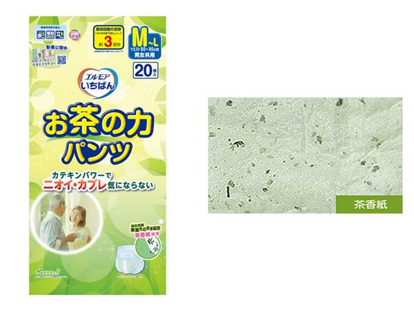茶香紙と茶香紙を使用した商品