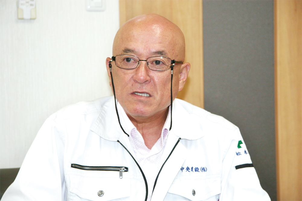 経営者インタビュー 中央建設社長