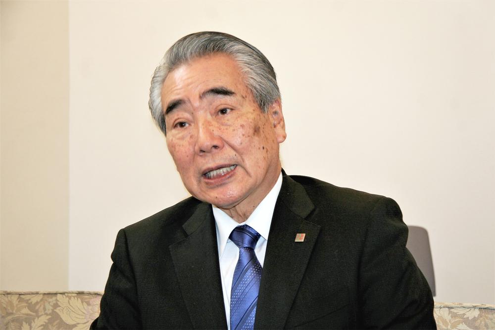 道後温泉旅館組合理事長 新山氏