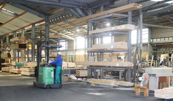 北米産業の工場内の様子