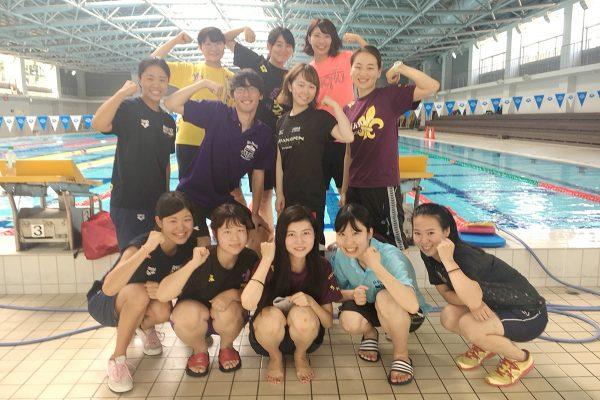 NPシステム_水泳部マネージャー時代の写真