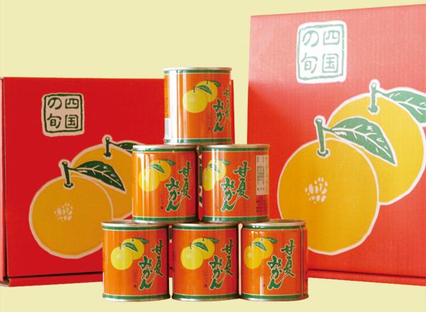 松宮のPB商品「甘夏みかん缶詰」